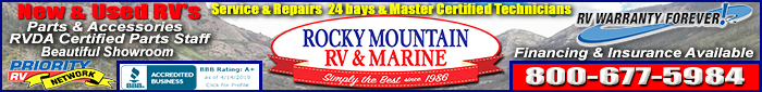 Rocky Mountain RV » Utah
